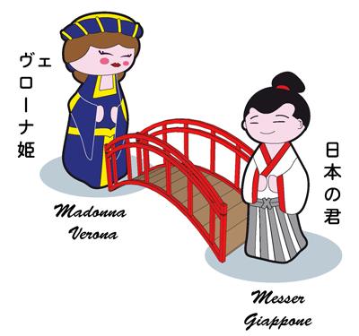 Un ponte tra Verona e il Giappone